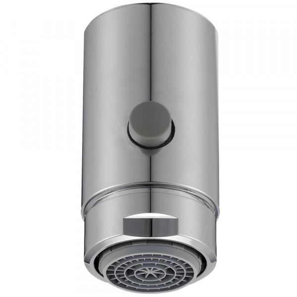 Miscelatore con pulsante di commutazione per rubinetto, M22
