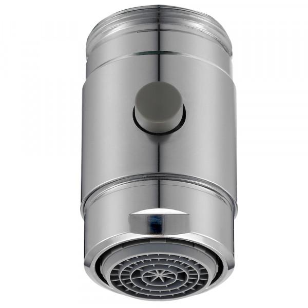 Miscelatore con pulsante di commutazione per rubinetto, M24