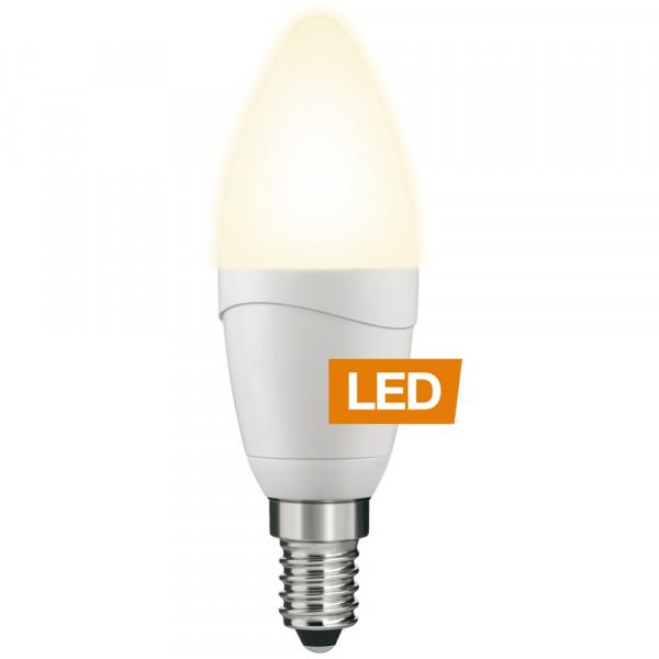 Lampada LED LEDON: Candela, B35 5W, dimmerabile