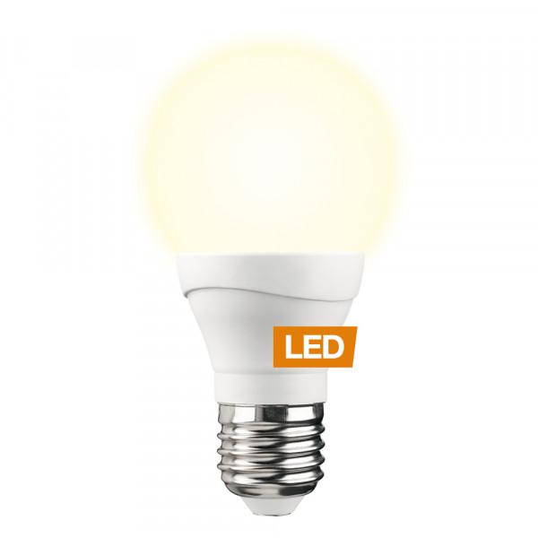 LEDON LED-Lampe Birne A60 E27 7W dimmbar an