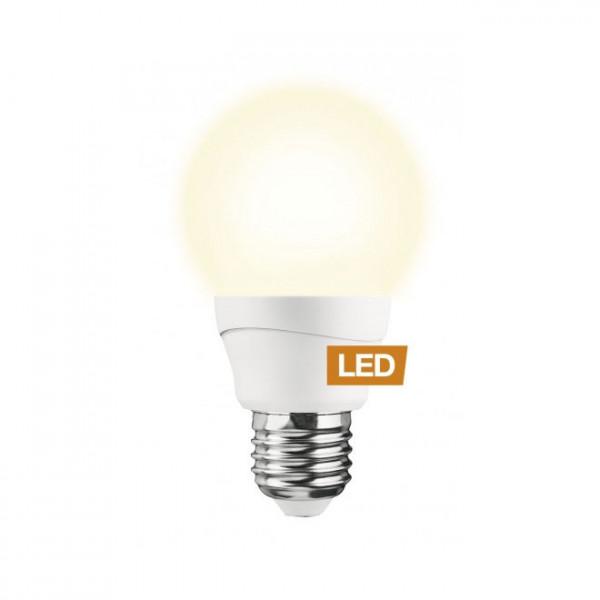 Lampada LED LEDON: Goccia, A60, 7W, E27, non dimmerabile