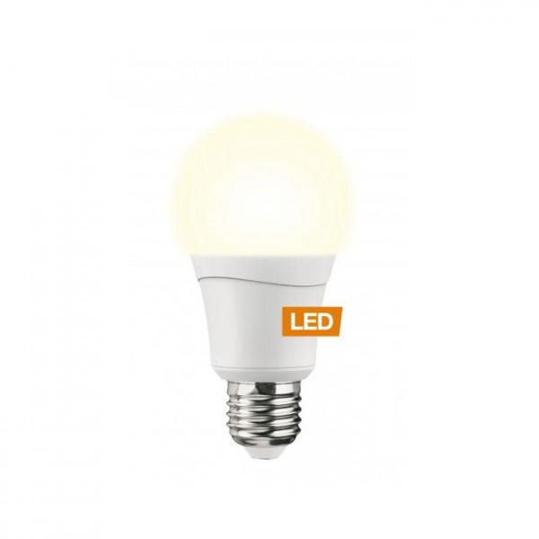 Lampada LED LEDON: Goccia, A60, 8.5W, E27, dimmerabile