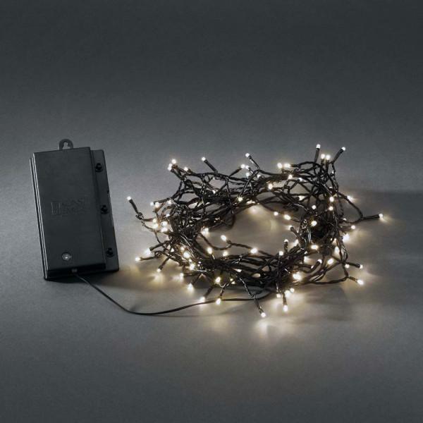 Konstsmide LED-Lichterkette batteriebetrieben 1200cm lang 120 LEDs