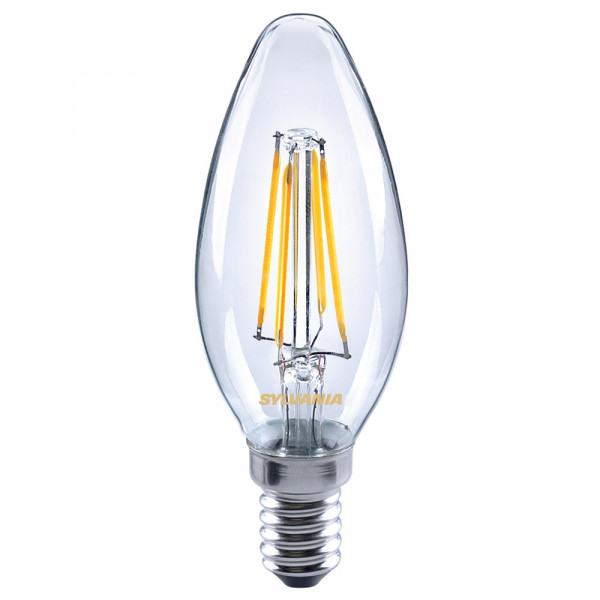 Sylvania Lampada a LED ToLEDo Retro, candela, 4W, E14
