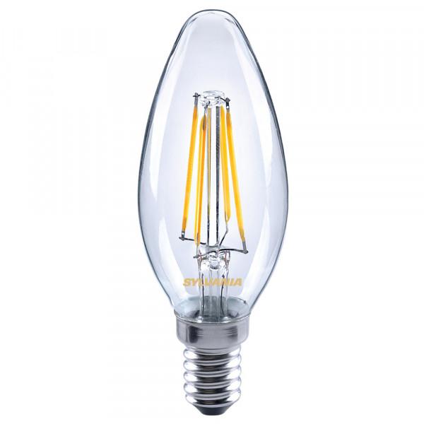 Sylvania LED-Lampe ToLEDo Retro, Kerze, 4W, E14