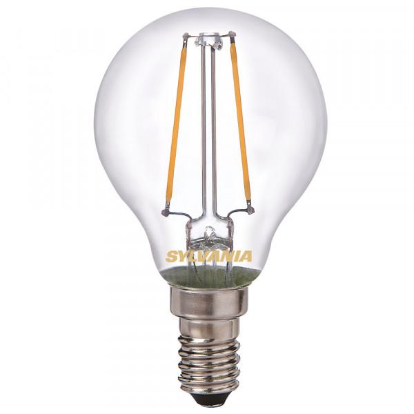 Lampada a LED Sylvania ToLEDo retrò, goccia, 4W, E14