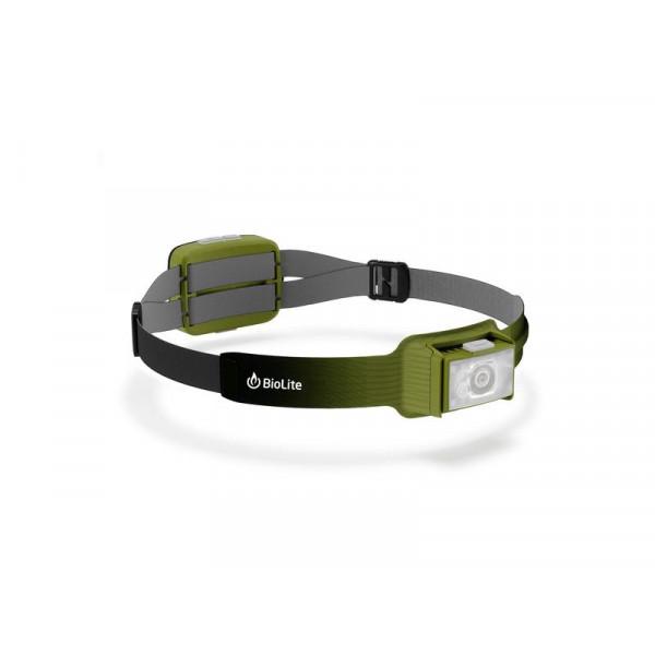 Lampada frontale BioLite 750 Verde