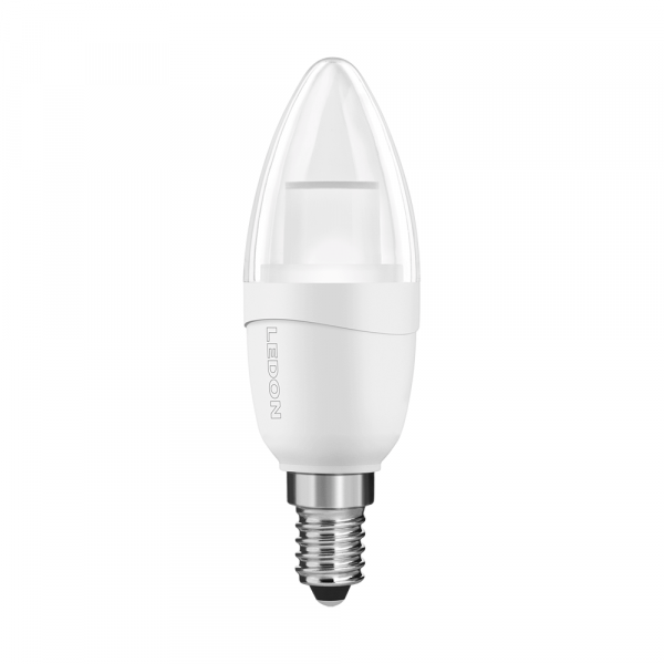 LEDON Lampada a LED: Candela, B35, 5W