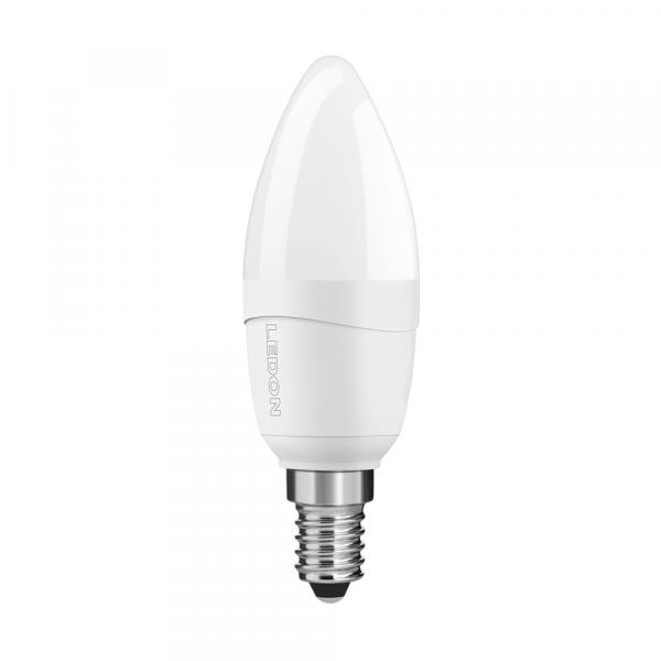 Lampada LEDON LED: Candela, B35, 5W, opaco