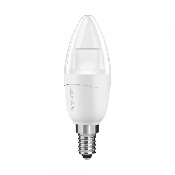 LEDON Lampada a LED: Candela, B35, 5W, 5W, luce di candela