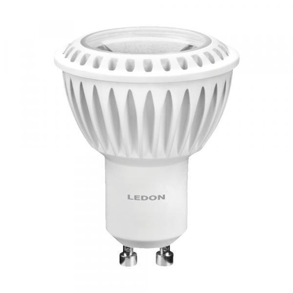 LEDON Lampada a LED: Spot, GU10, 5W