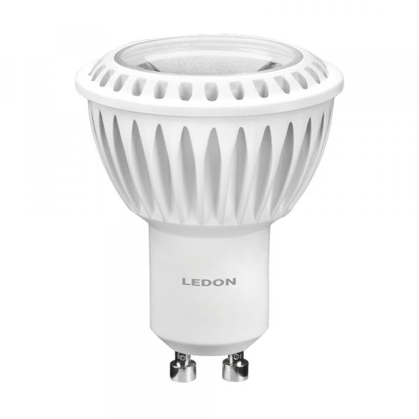LEDON Lampada a LED: Spot, GU10, 6W