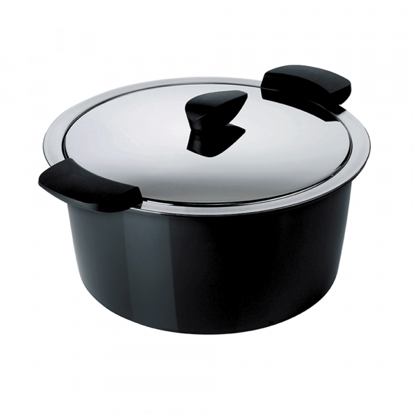 HOTPAN® Servierkasserolle 2L, schwarz