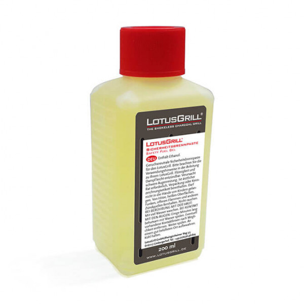 Pasta combustibile di sicurezza LotusGrill 200ml