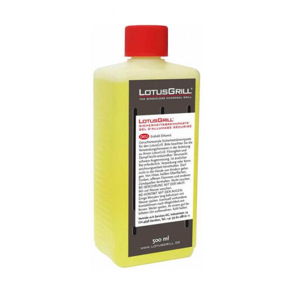 Pasta combustibile di sicurezza LotusGrill 500ml