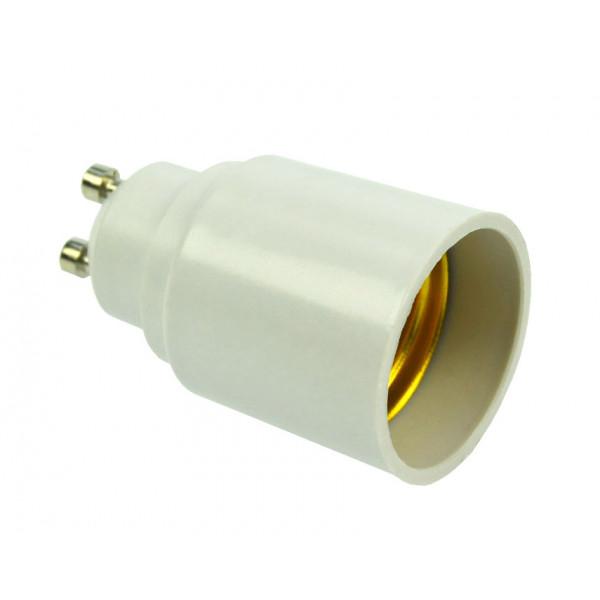 Adattatore zoccolo GU10 zoccolo per lampade E27