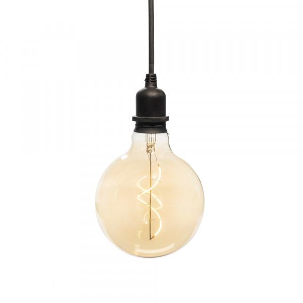 Lampada decorativa Edison rotonda