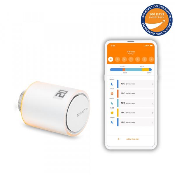 Netatmo Valve - termostato intelligente supplementare per tutti i termosifoni